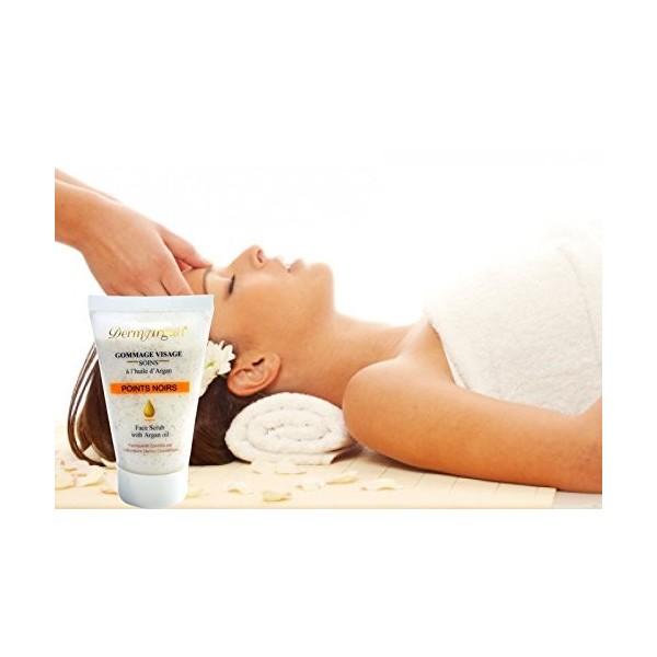 Gommage visage purifiant anti points noirs et acn l 39 huile d 39 argan soin anti imperfections - Gommage visage maison point noir ...