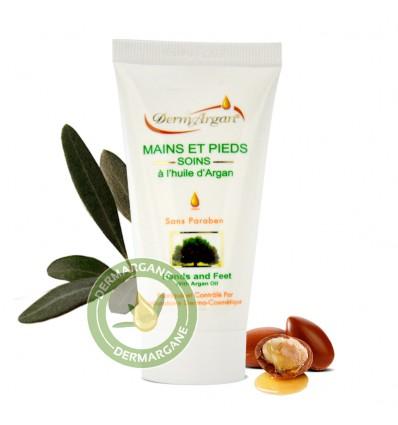 Crème Mains et Pieds à l'huile d'Argan - Tube 50 ml