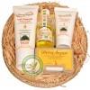 Coffret 4 produits beauté Huile d'Argan pure (40ml) + Lait corporel à l'Huile d'Argan (125ml) + Crème visage hydratan